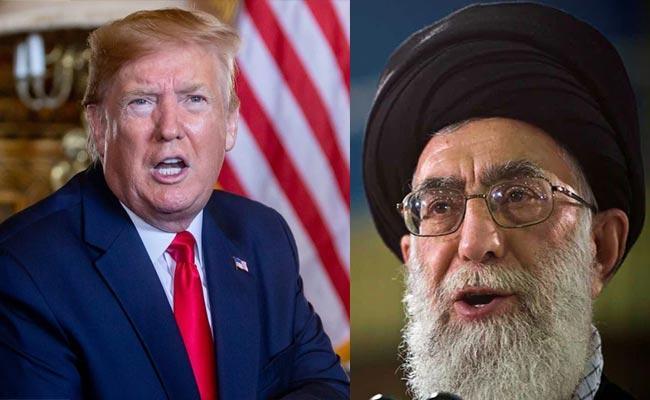 Donald Trump Warns Iran Supreme Leader Over Calling US Allies Lackeys - Sakshi