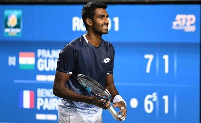 Prajnesh Makes Australian Open Main Draw As Lucky Loser  - Sakshi