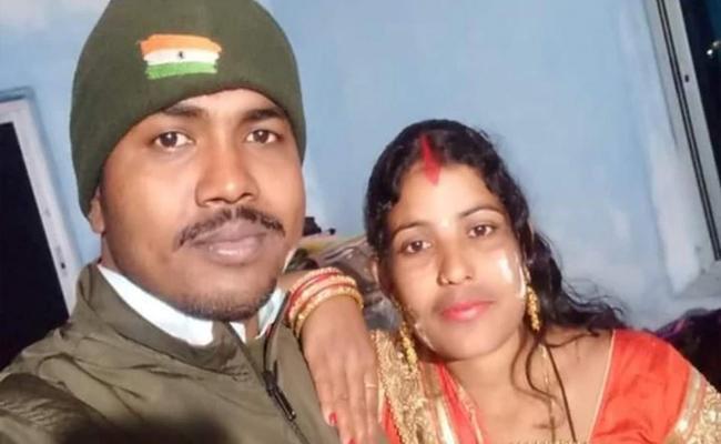 Jawan Shoots Wife 7times Before Killing Himself In Bihar - Sakshi