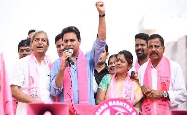 Dont Do Caste Politics Says KTR - Sakshi