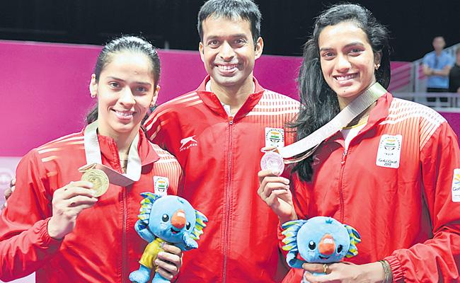 There Is Lot Of Competition Between Us, Sindhu - Sakshi