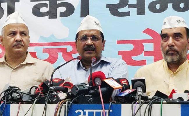 Arvind Kejriwal Releases Election Manifesto - Sakshi