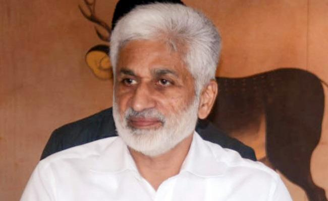 Vijay Sai Reddy Critics Chandrababu Comments On AP Capital - Sakshi