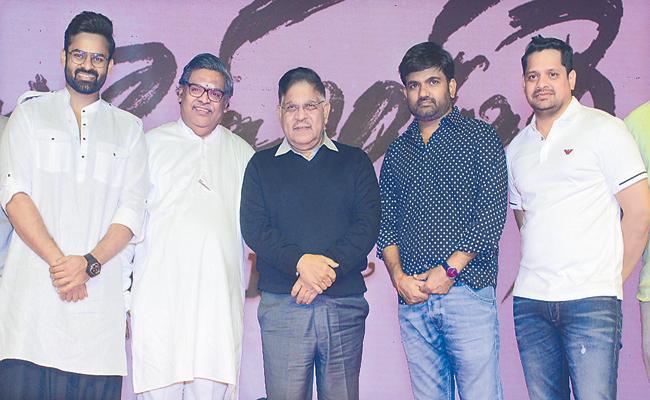 Allu Aravind comments about Prathi Roju Pandage Event - Sakshi