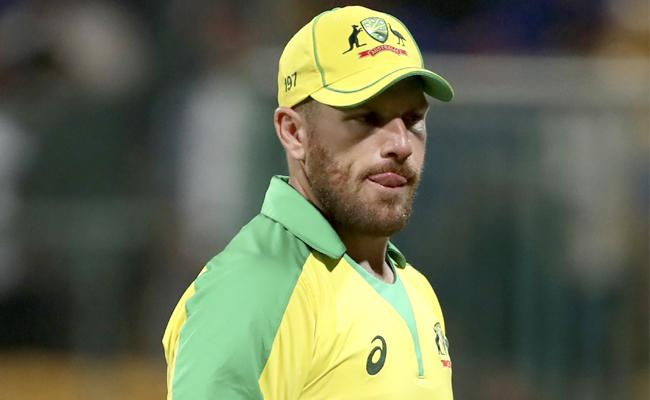 It's A Great Learning Curve To Play Against India, Finch - Sakshi