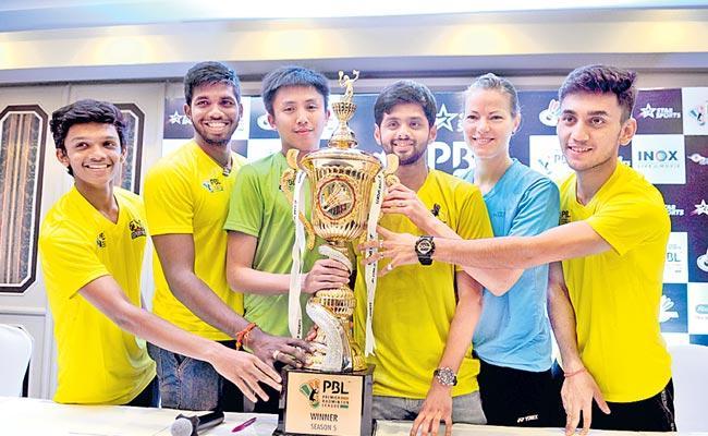 Premier Badminton League Started On Monday 2020 - Sakshi