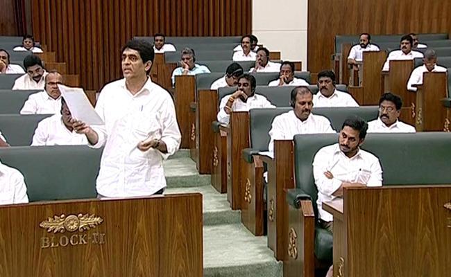 Andhra Pradesh Assembly Special Session On AP Capital : Assembly Session Starts - Sakshi