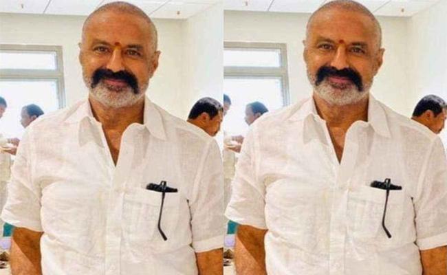 Nandamuri Balakrishna New Look Viral In Social Media - Sakshi