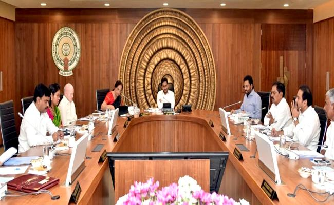 Assembly Special sessions On AP Capital: Cabinet meeting Bigens - Sakshi