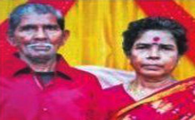 Husband Died With Heart Stroke While Wife Death News - Sakshi