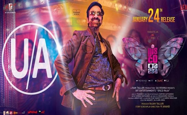 Ravi Teja Disco Raja Telugu Movie Censor Completed - Sakshi