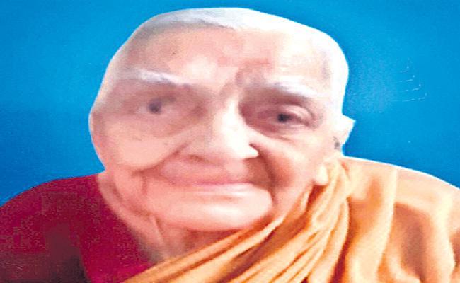 Rajaratnamma Great Freedom Fighter Passed Away At Kukatpally - Sakshi