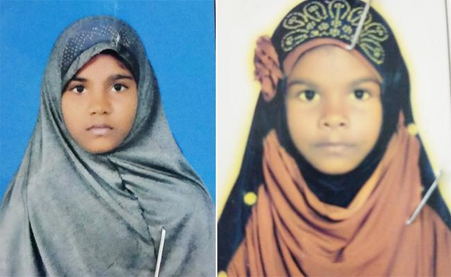 Sisters Died in Handri Neeva Canal Anantapur - Sakshi