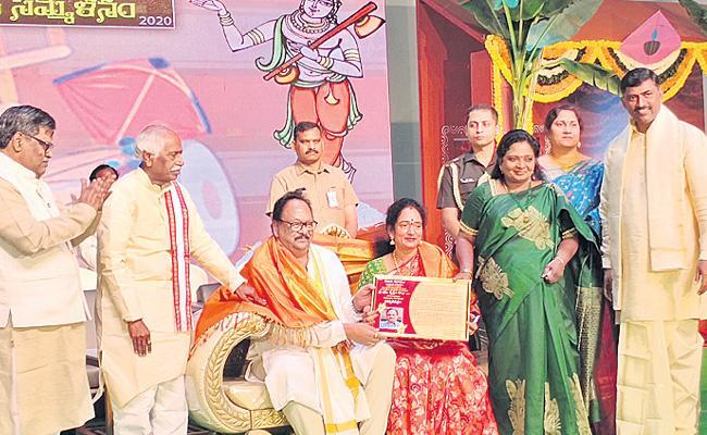 Tamili Sai Attends Telugu Sangam Sankranti Third Composition At Hyderabad - Sakshi