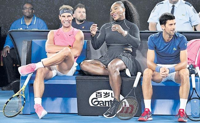 Serena Williams At Australian Open Tennis Tournament - Sakshi