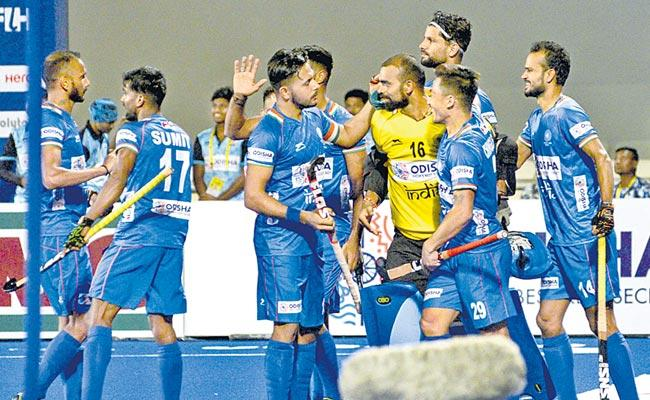 India Beat Netherlands In Shoot Out In Second Match - Sakshi