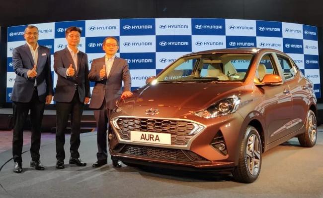 Hyundai Aura Launched In India - Sakshi