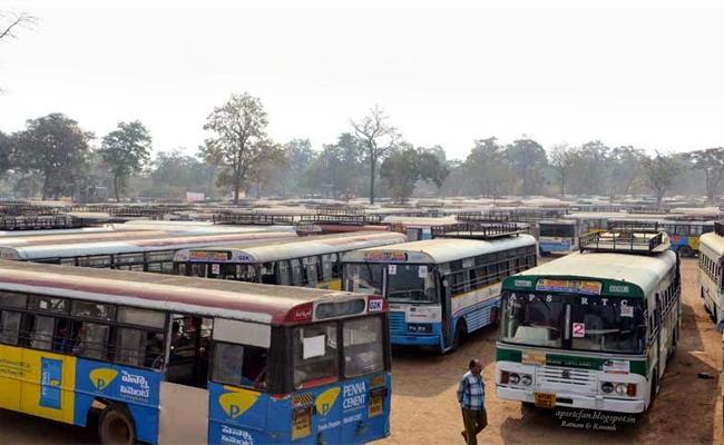 Special Buses Arranged From Adilabad Region FOr Medaram Festival - Sakshi