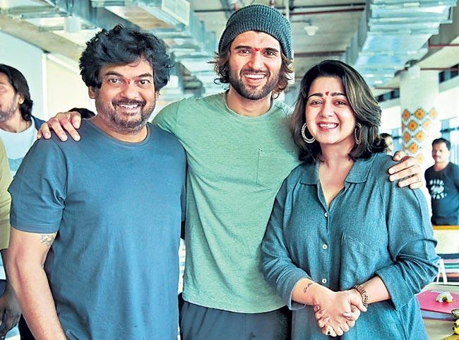 Vijay Devarakonda and Puri Jagannadh Movie Launch in Mumbai - Sakshi