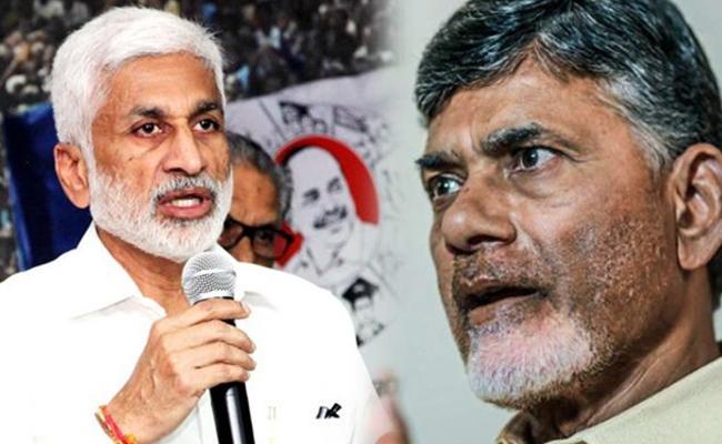 Vijaya Sai Reddy Satires On Chandrababu Stand Over AP Capital - Sakshi