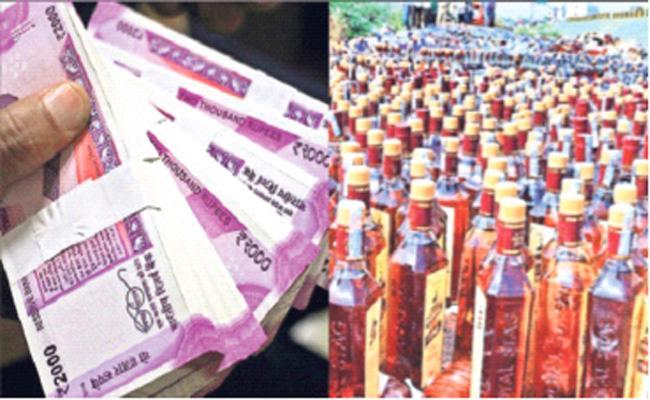 Money And Alcohol Disributing in Gadwal Jogulamba Municipal Elections - Sakshi