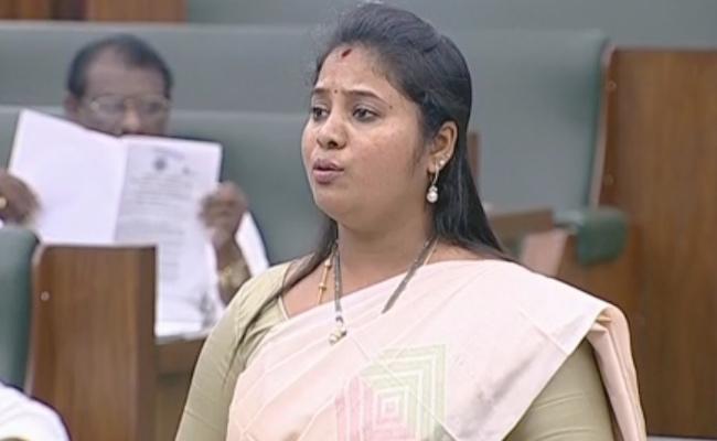 AP Deputy CM Pushpa Sreevani Speech On SC Commission Bill At Assembly - Sakshi