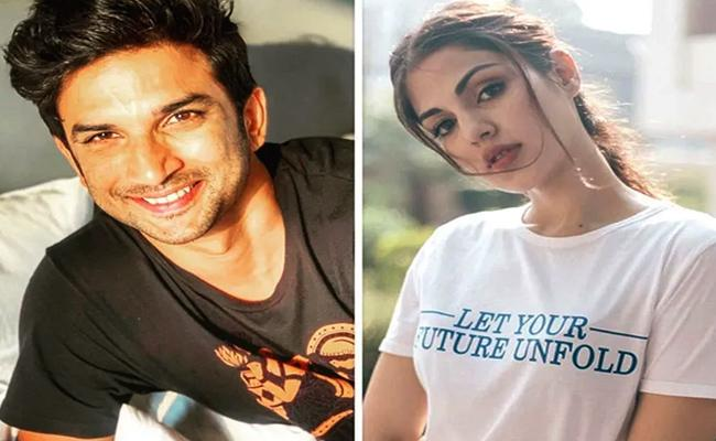 Rhea Chakraborty Makes Her Relationship Officially with Sushant Singh Rajput - Sakshi