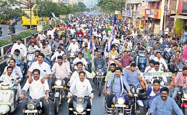 Celebrations all over Andhra Pradesh On Three Capitals - Sakshi