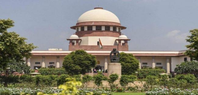 Supreme Court refuses immediate stay on electoral bonds - Sakshi