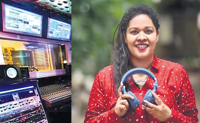 Indian First Sound Record Technician Sajida khan Story - Sakshi