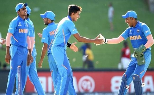 Under 19 World Cup Japan All Out At 41 Against India - Sakshi