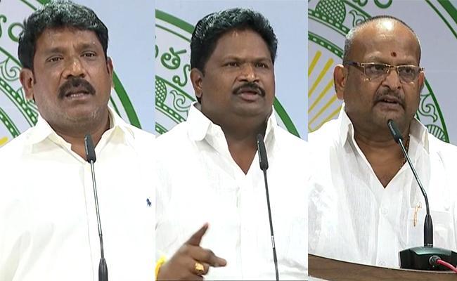 YSRCP MLA Koramutla Srinivasulu And Others Talks At Assembly Media Point  - Sakshi