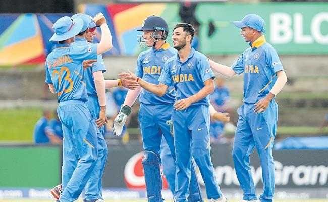Under 19 World Cup 2020 India Thrash Japan By 10 Wickets - Sakshi