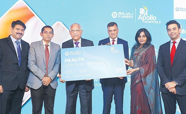 Apollo Hospitals Group And Bajaj Finserv Have Made Partnership - Sakshi