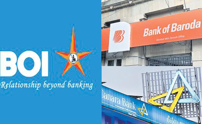New CEOs For Canara Bank, BOB And BOI - Sakshi