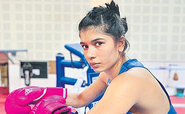 Nikhat Zarin entered Second Round Of The International Boxing Tournament - Sakshi