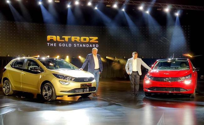 Tata Altroz launched price starts at Rs 5.29 lakh - Sakshi