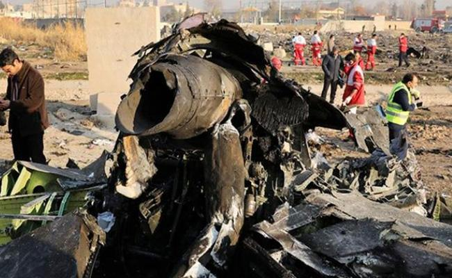 Plane was shot down with two missiles says Iran - Sakshi