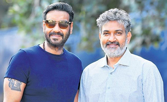 Ajay Devgn Starts Shooting For SS Rajamouli RRR Movie - Sakshi