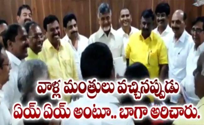 TDP MLCs Discuss With Chandrababu About Their Rowdyism In Council - Sakshi
