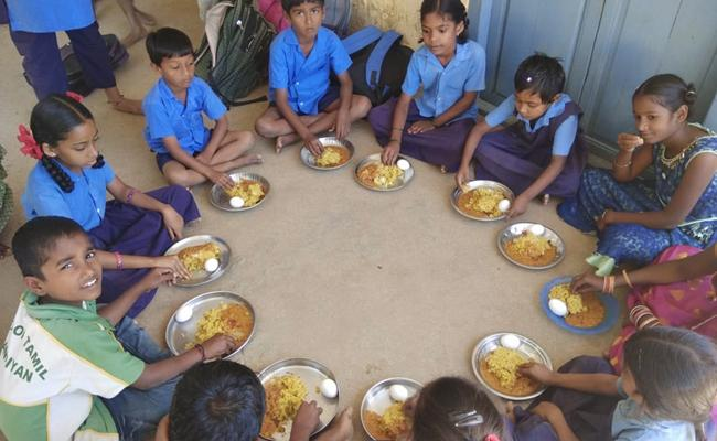New Menu in Government Schools Midday meals Chittoor - Sakshi