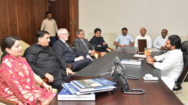Netherlands Representatives Meet To AP CM YS Jagan At Assembly - Sakshi