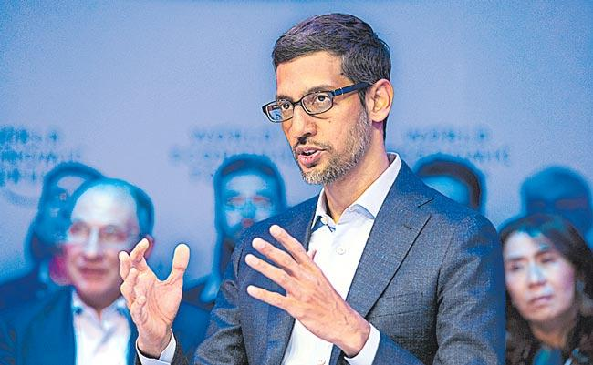 Sundar Pichai thinks AI will be a more profound change than fire - Sakshi