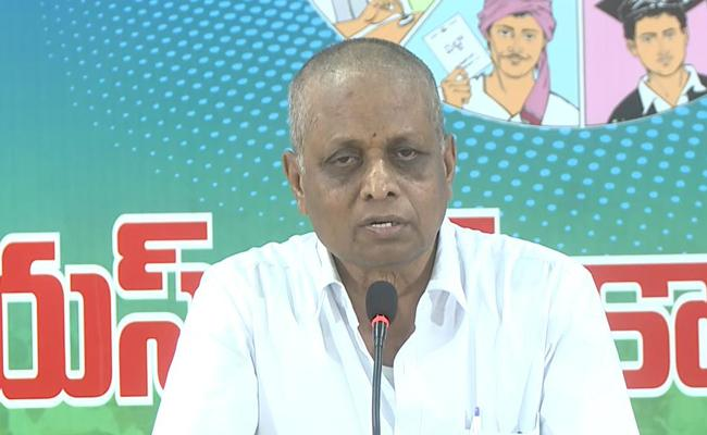 YSRCP Leader Dadi Veerabhadra Rao Comments On Chandrababu - Sakshi