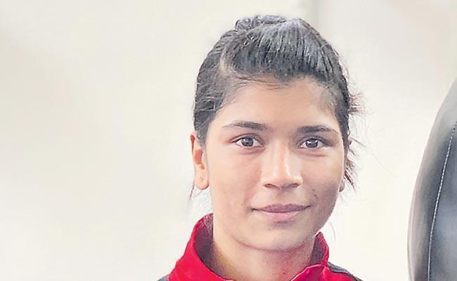 International Boxing Tournament Nikhat Zarin Entered The Quarter Finals - Sakshi
