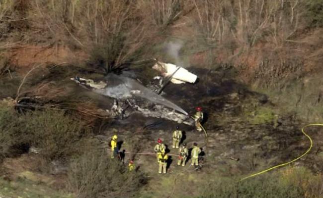 Four Killed In Plane Crash At Southern California Airport - Sakshi