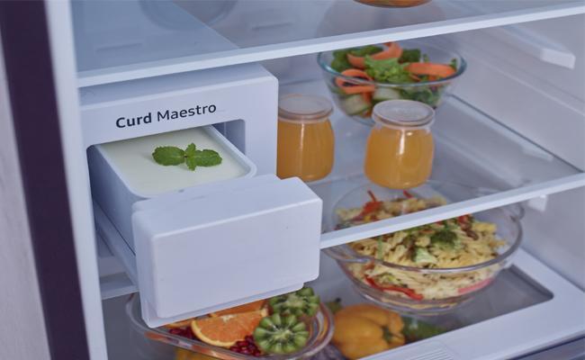 Samsung launches Curd Maestro refrigerator - Sakshi