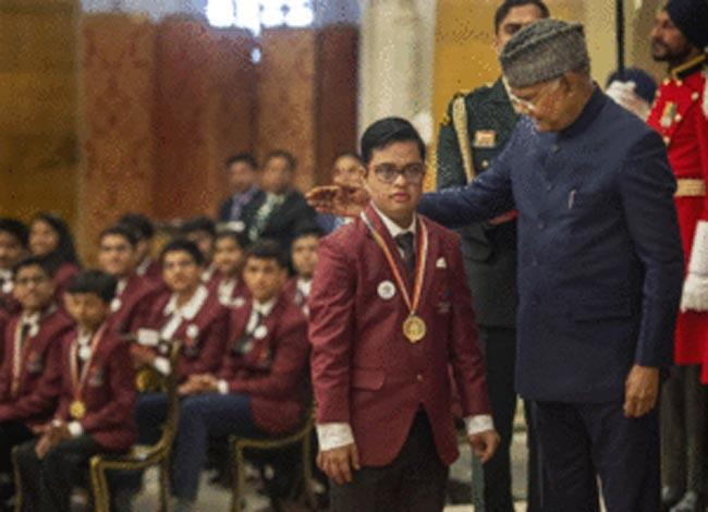 President confers Bal Shakti Puraskar to 49 children - Sakshi