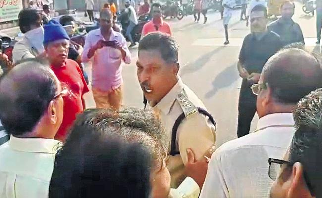 TDP leaders Over Action on DSP - Sakshi