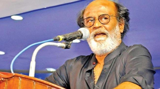 Political misconduct over Rajinikant comments - Sakshi